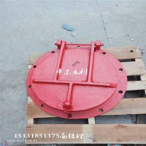 拍门|PMY铸铁拍门|DN400法兰式铸铁拍门|400毫米10公斤压力法兰拍门0.4m