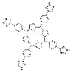 5,10,15,20-四烷基[4-(2H-四唑-5-基)苯基]-21H,23H卟吩CAS号:186697-34-7