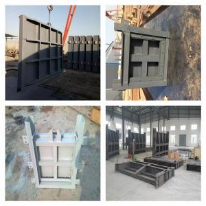 钢制滑动闸门 大型加工钢制闸门报价
