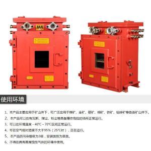 矿用防爆箱,MA煤安标志配电箱,煤矿井下电控箱 产品图片