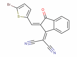 2-(2-((5-bromothiophen-2-yl)methylene)-3-oxo-2,3-dihydro-1H