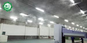 高压微雾加湿除尘造景除臭系统