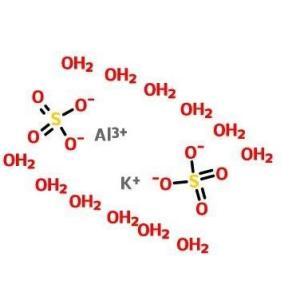硫酸铝钾(十二水合物)