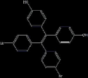 [1,1-二(4-溴苯基)-2,2-二(4-羟基苯基)]乙烯 CAS: 2029185-29-1 科研 优势产品