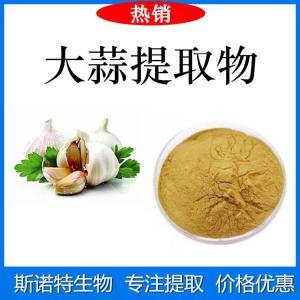 大蒜提取物 大蒜素1% 食品原料粉